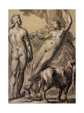 Adam and Eve the Fall  Late 1590S