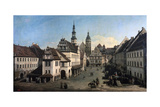 The Market Place in Pirna  C1752-C1755