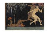 Bacchanal Scene  1914