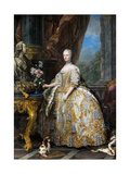 Portrait of Marie Leszczynska  Queen of France (1703-176)