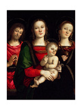 Madonna and Child with Saints Catherine of Alexandria and John the Baptist