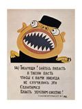 Soviet Political Poster  1921