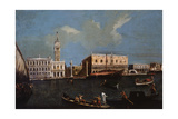 Grand Canal  Piazzetta and Doge's Palace in Venice  18th Century