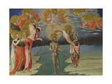 The Baptism of Christ (Predella Pane)  1454