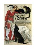 Clinique Chéron, 1905 Giclée par Théophile Alexandre Steinlen