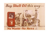 Poster Advertising Shell Oil  C1920s