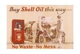Poster Advertising Shell Oil  C1920s