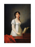 Portrait of the Italian Singer Angelika Catalani  Late 18th or Early 19th Century