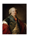 Portrait of the Vice-Chancellor Prince Alexander Kurakin  1797