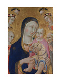 Madonna with Child  Saints Apollonia and Bernardino and Four Angels  Ca 1460