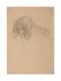 Study of a Woman's Head in Three-Quarter Profile  C1901-1902