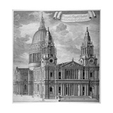 St Paul's Cathedral  City of London  C1715