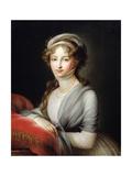 Portrait of Empress Elizabeth Alexeievna  C1795