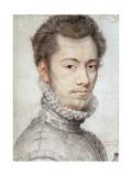 Portrait of Etienne Dumoustier  C1570