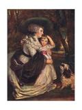 Lavinia  Countess Spencer (1762-183)  and John Charles Spencer  Viscount Althorp (1782184)  1906