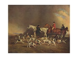 John Powlett and His Hounds  (C18th to 19th Centur)  1929