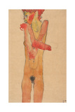 Nude Girl with Folded Arms  1910