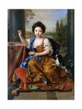 Louise Marie De Bourbon (1674-168)  Duchesse D'Orléans