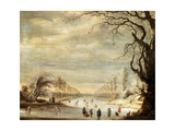 Winter Landscape  17th Century