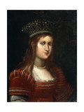 Portrait of Archduchess Maria Magdalena of Austria  17th Century