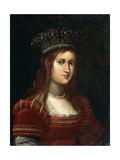 Portrait of Archduchess Maria Magdalena of Austria  17th Century