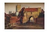 Potter Gate  Lincoln  (1800-184)  1937