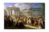 Entry of Napoleon into Berlin  October 1806
