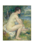 Nude Woman in a Landscape  1883