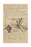 The Sower, Letter to Theo from Arles, C. 25 November 1888 Giclée par Vincent Van Gogh