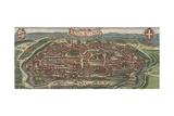 Bird's-Eye View of Vienna from North  1609
