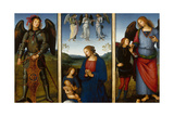 Three Panels from an Altarpiece  Certosa  C 1500