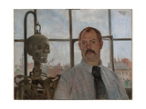 Selfportrait with Skeleton