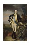 George Washington after the Battle of Princeton on January 3  1777