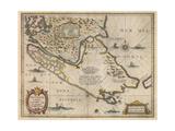 Freti Magellanici Ac Novi Freti Vulgo Le Maire Exactissima Delineatio  C1630