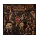 Triumph of the War Against Siena  1563-1565
