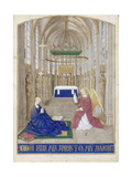 The Annunciation (Hours of Étienne Chevalie)