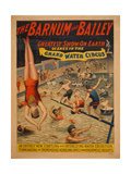 The Barnum and Bailey Greatest Show on Earth Scenes in the Grand Water Circus  C 1895