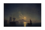 Naples by Night  1850