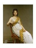Portrait of Madame Raymond De Verninac  Née Henriette Delacroix