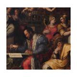 Cosimo Studies the Taking of Siena  1563-1565