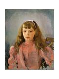 Portrait of Grand Duchess Olga Alexandrovna of Russia  1893