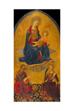 The Adoration of the Virgin and Child by Saint John the Baptist and Saint Catherine