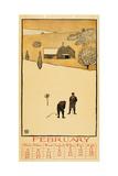 Golf Calendar February