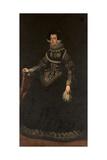 Portrait of Queen Elisabeth of France (1602-164)  Queen Consort of Spain