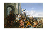Death of Robert Le Fort in the Battle of Brissarthe  866