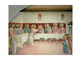 The Holy Communion and the Last Supper Giclée par Fra Angelico