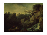 Romantic Landscape (Landscape in the Taste of Salvatore Ros)  1746