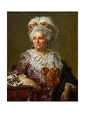 Portrait of Geneviève Jacqueline Pécoul