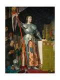 Joan of Arc at the Coronation of Charles VII in the Cathedral at Reims