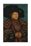 Portrait of Joachim I Nestor (1484-153)  Elector of Brandenburg  1529